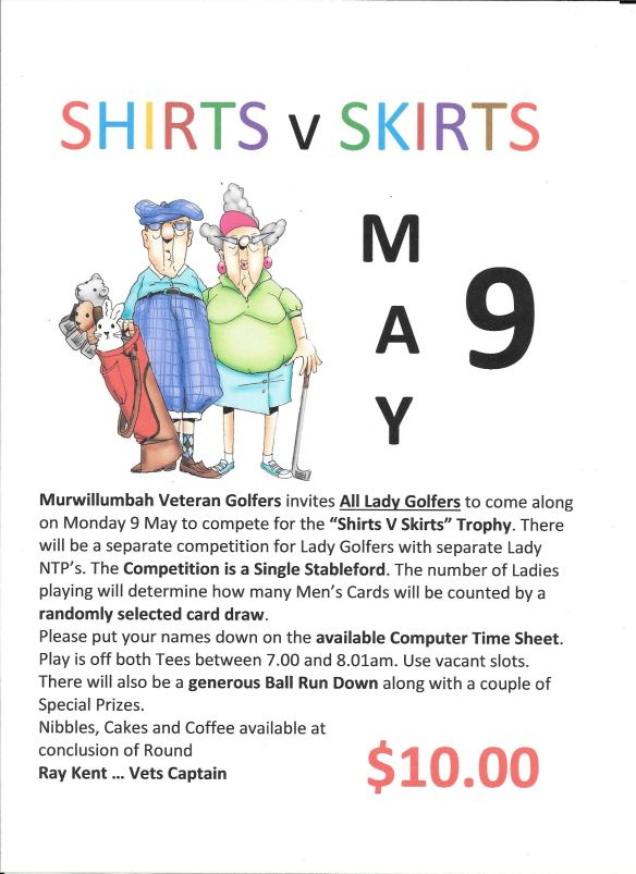 Shirts V Skirts
